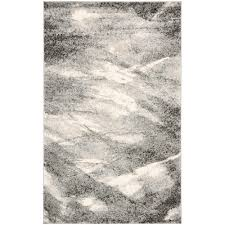 Wolf Area Rugs by 8 X 10 Gray Rustic Lodge Area Rugs Rugs The Home Depot