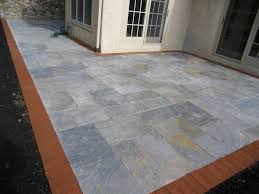 Tiling A Concrete Patio by Bluestone Flagstone Thickness Thermal Flagstone Dry Set Wet Set
