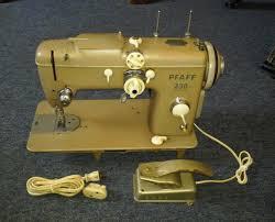 vintage heavy duty pfaff 230 automatic dial a stitch sewing