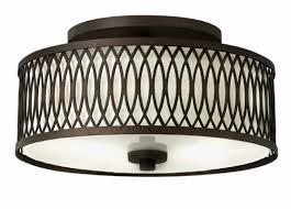 hinkley lighting walden 3 light semi flush mount u0026 reviews wayfair