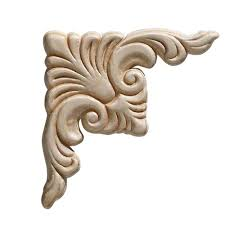 Kitchen Cabinet Appliques Unfinished Wood Appliques Moulding U0026 Millwork The Home Depot