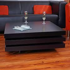 Wohnzimmertisch Uhr Couchtisch Beistelltisch Tisch Wohnzimmertisch Holz Hochglanz