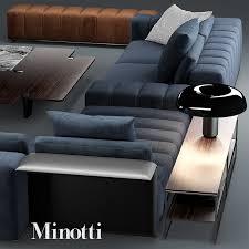 Minotti Andersen Sofa Sofa Minotti Freeman Model