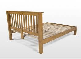 Bedroom Sets Natural Wood Double 4 Ft Natural Wood Bed Frame Thomson