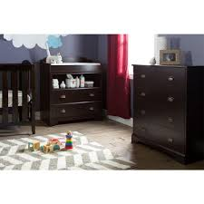 Espresso Changing Table South Shore Fundy Tide 2 Drawer Espresso Changing Table 9024331