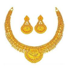 set of gold gold necklace at rs 90400 set s gold necklace id 8149498648