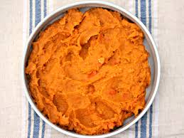 save oven space with cooker spiced sweet potato and carrot mash
