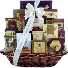 sympathy gift baskets great arrivals sympathy gift basket in loving memory