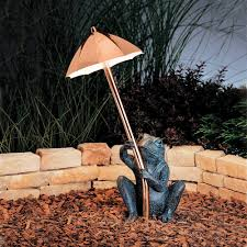 Kichler Lighting Company Kichler Lighting 15307co Frog Umbrella Path Light Kch 15307 Co