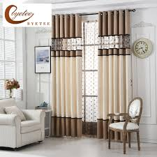 Luxury Kitchen Curtains by Aliexpress Com Buy Byetee High Quality Luxury Curtain For