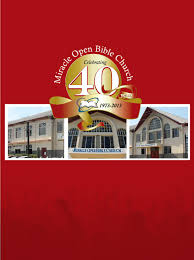 miracle open bible church 40th anniversary magazine 2013 by gayle