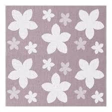tapis outdoor flower en plastique tressé tapis spécial terrasse