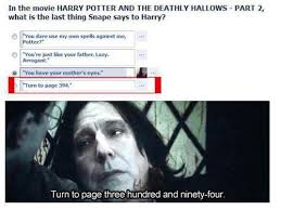Snape Always Meme - turn to page 394 know your meme