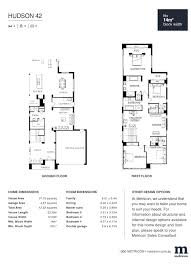 floor plans u2013 our metricon hudson