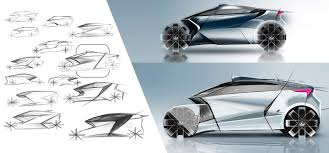 lamborghini sketch side view lexus three wheeled revolution concept by sanjay urikoth motivezine