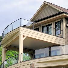 glass railing systems deckorators fortress century and more