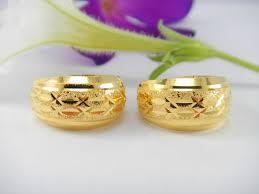 3 gram gold earrings thai 18k gold earrings