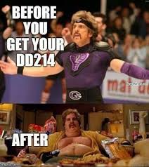 D D Memes - before and after dd 214 life navy memes clean mandatory fun
