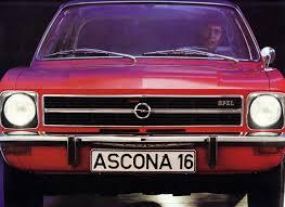 1971 opel ascona cars