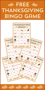 free printable thanksgiving bingo cards catch my