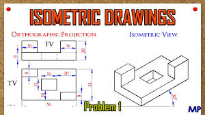 isometric views problem 1 youtube