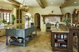 Cabin Kitchen Decor Endearing Country Kitchen Design Ideas With Wooden Cabinet And