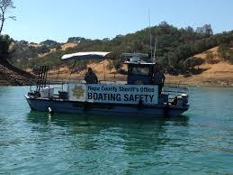 county of napa sheriff u0027s office lake berryessa