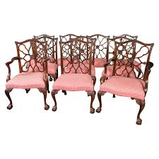 Mahogany Dining Room Set by Dining Chairs Fascinating Mahogany Chippendale Dining Chairs