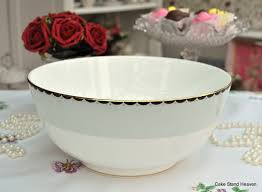 Duck Egg And Gold Curtains Wedgwood Curtain Call Duck Egg And Gold 26cm Large Serving Bowl To Buy