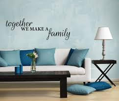 sell home decor online wall sticker family quote together we make a family wall decor