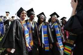 kente graduation stoles commencement 2015 ic view ithaca college