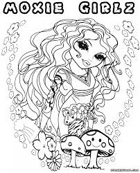 moxie girlz coloring pages coloring pages to download and print
