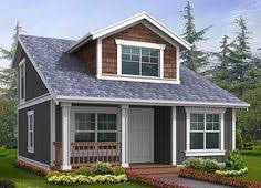 500 Square Foot Tiny House Plan 2395jd Small House Plan With Two Exterior Choices Small