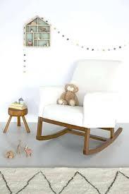 White Glider Rocking Nursery Chair Maternity Glider Rocking Chair Oxford Glider Chair Image 0 A