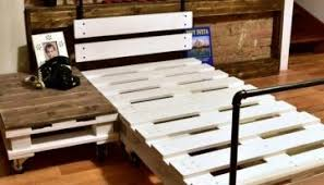 Pallet Bed Frame Plans 15 Amazing Bed Frame Ideas With Old Wood Pallets Pallets Designs
