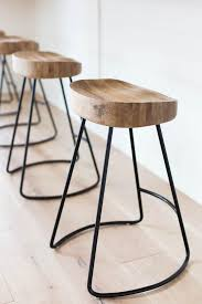 ergonomic bar stools its top part has ergonomic design due to its curve and there s a