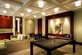 furniture splendid decoration remarkable brick wall game room
