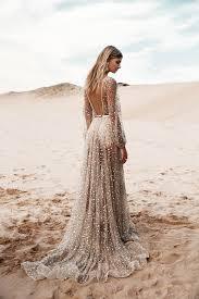 27 lace wedding dresses with sleeves and open back feminine u0026