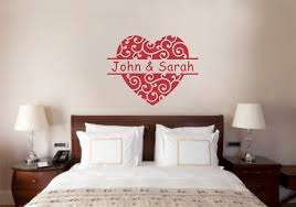 custom name u0027s love decor vinyl decal wall stickers