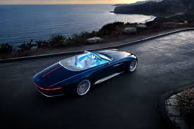 real futuristic cars the vision mercedes maybach 6 cabriolet rejects the pod based