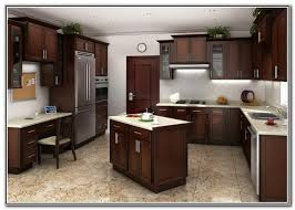 Hampton Bay Kitchen Cabinets Cognac Our Home Pinterest - Cognac kitchen cabinets
