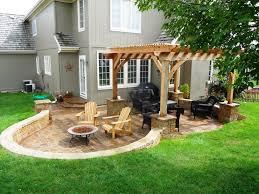 Backyard Paver Ideas Small Backyard Paver Ideas All Home Design Ideas Chic