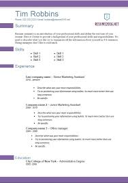 Office Word Resume Template Microsoft Word Resume Template 2010 Best Word Resume Template