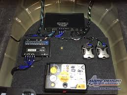 ford mustang audio system custom ford mustang enclosures complete audio upgrade package