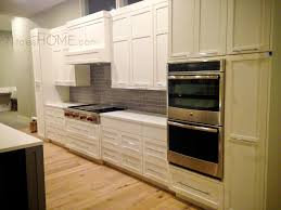 i like this spacious layout and how the wall ovens are close to