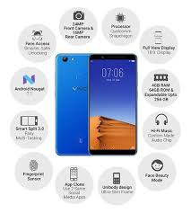 Vivo V7 Vivo V7 Plus Screen Size 15 21 Centimeters 5 99 Inch Fullview