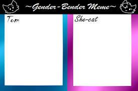 Meme Base - gender bender meme base by tawny bear on deviantart