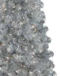silver artificial tree treetopia