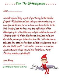 elf letter template elf on the shelf goodbye letter template image collections