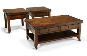 livingroom end tables coffee table set bob s discount furniture